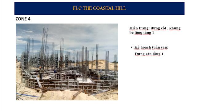 Tiến độ tòa Zone 4 The Coastal Hill