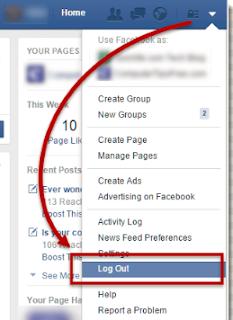 FB Account Logout - Logout Of Facebook Now - Facebook App Logout