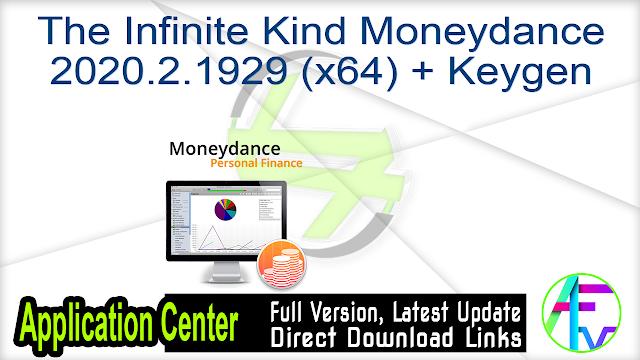 The Infinite Kind Moneydance 2020.2.1929 (x64) + Keygen