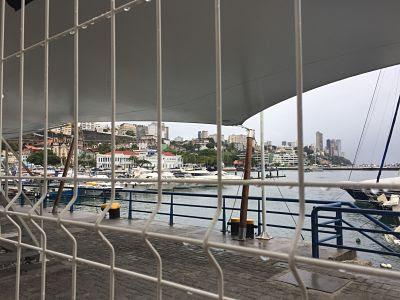 Salvador de Bahía. Muelle de llegada desde Itaparica