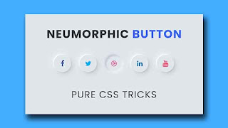 CSS Neumorphism Button Effects