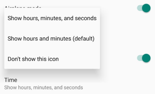 Tweak the Status Bar using System UI Tuner