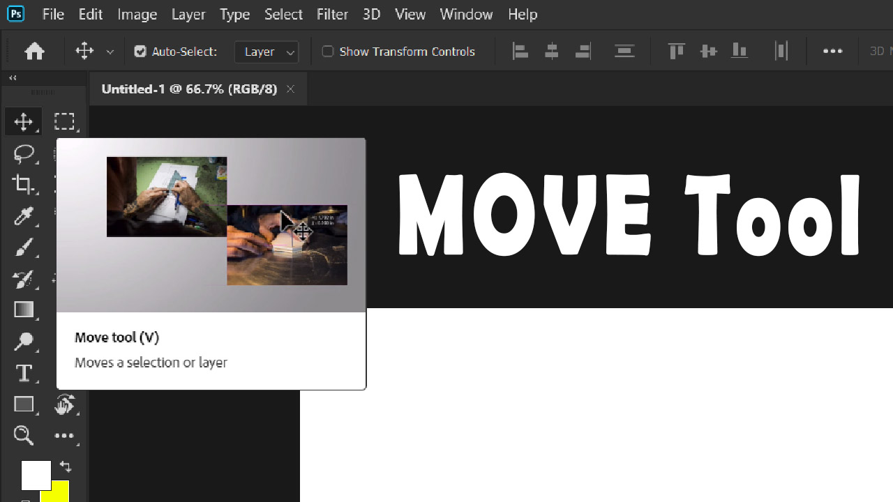 How to use MOVE Tool