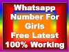 Whatsapp-Number-For-Girls | 100+ Girls Whatsapp Number | Girls Whatsapp Group Number