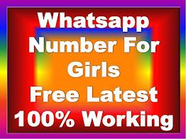 Whatsapp Number For Girls, girls whatsapp number for friendship, girls whatsapp number for chat in 2020, whatsapp, whatsapp group,