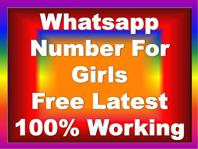 Girls Whatsapp Number | Girls Whatsapp Group Number | Girls Whatsapp Number App