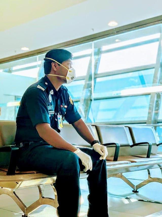 Temuduga masuk Pusat Latihan Polis Malaysia (PULAPOL) di Langkawi.