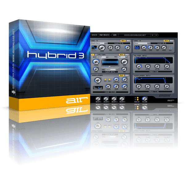 AIR Music Technology Hybrid 3 v3.0.7 Full version