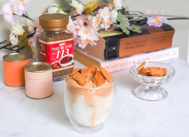 ppopgi dalgona coffee flatlay seattle foodie blogger kfclovesyou kirstie chan