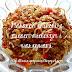 Makaron chiński z mięsem mielonym i warzywami