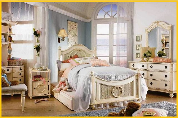 shabby chic paint colors for walls