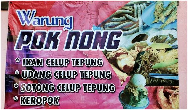 Puas hati Dapat Makan Sotong Celup Tepung di Warung Pok Nong, Terengganu