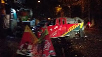 Melaju Kencang, Mobil Angkot di Medan Oleng dan Terbalik, 2 Penumpang Tewas