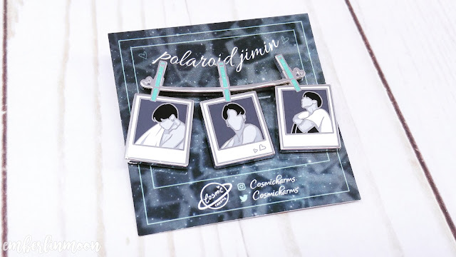 Cosmic Charms Shop | BTS Jimin Polaroid Pin