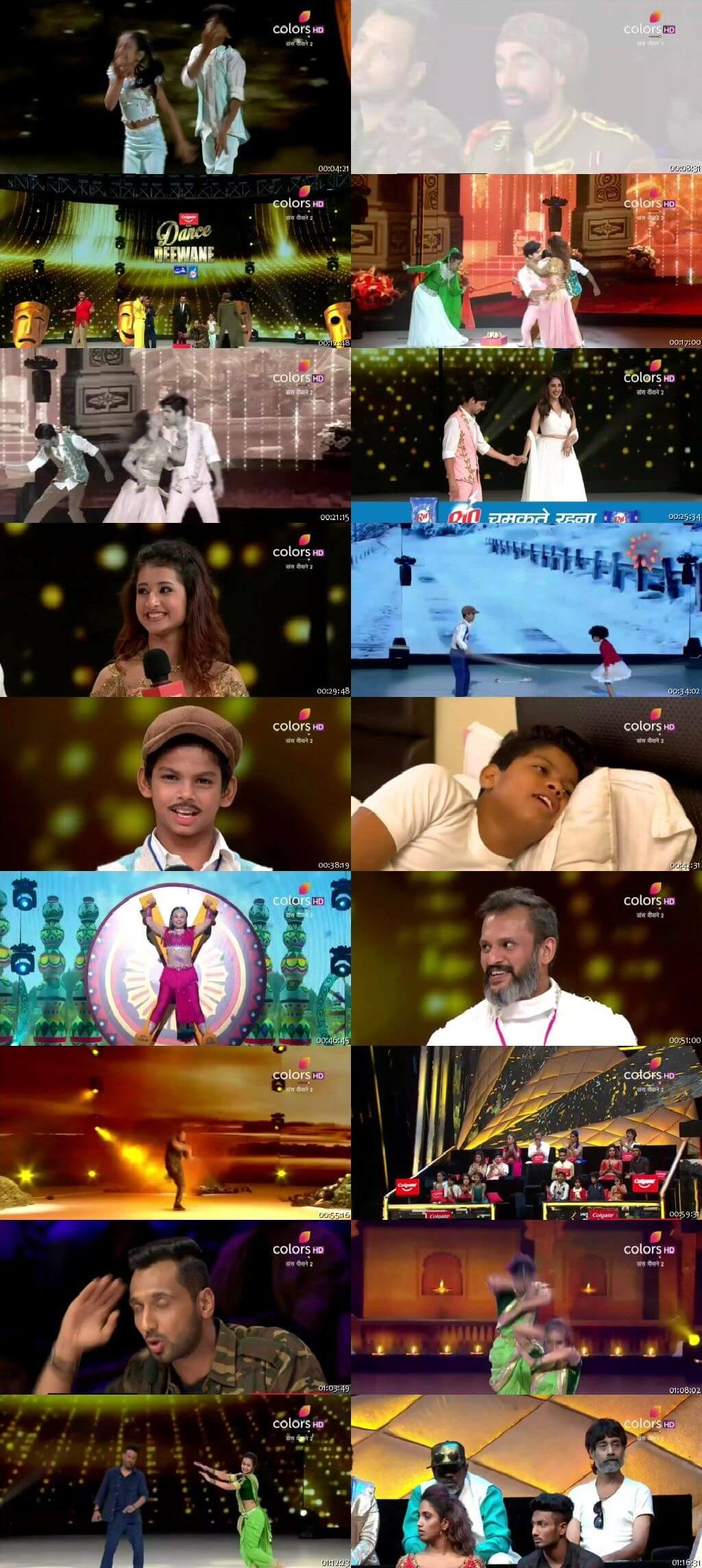 Screenshots Of Hindi Show Dance Deewane 2 14th July 2019 Episode 10 300MB 480P HD