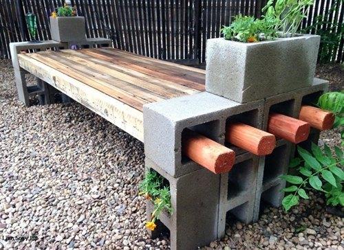 inovasi roster beton untuk kursi taman