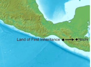 Nephi Flees the Land of First Inheritance