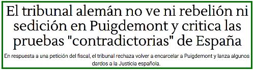 https://www.libertaddigital.com/espana/2018-05-22/el-tribunal-aleman-insiste-en-que-no-hay-delito-de-rebelion-y-mantiene-a-puigdemont-en-libertad-1276619151/