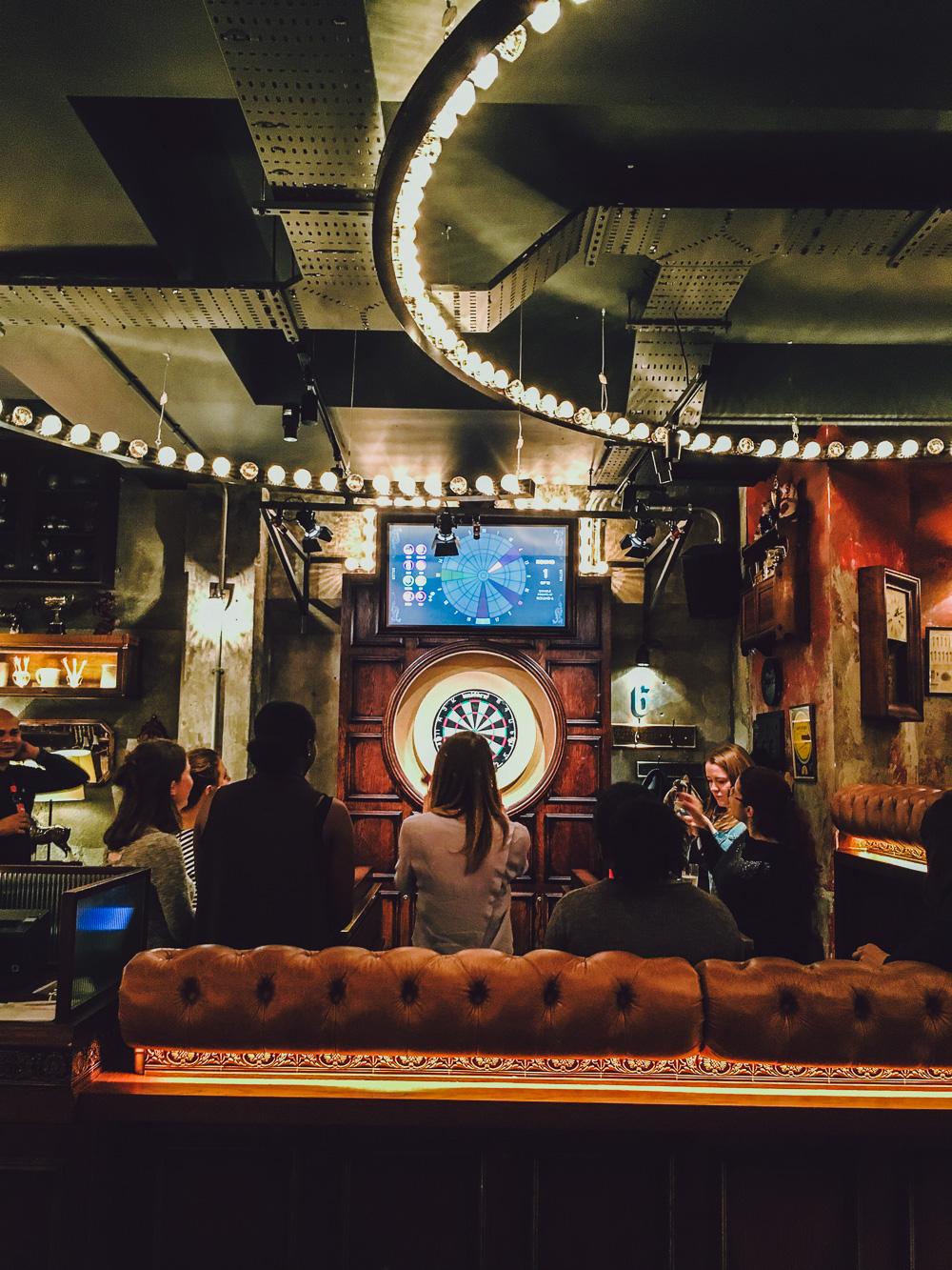 Flight Club Bloomsbury London Darts Bar