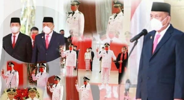 5 Pasangan Kepala Daerah resmi Dilantik Gubernur Sulawesi Utara