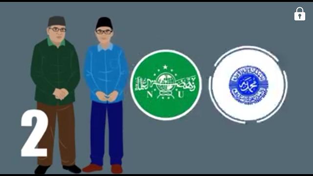 Gawat! Buku Keislaman NU dan Muhammadiyah Kurang Diminati Generasi Milenial