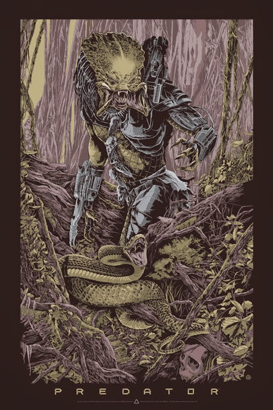Predator Standard Edition Screen Print by Ken Taylor