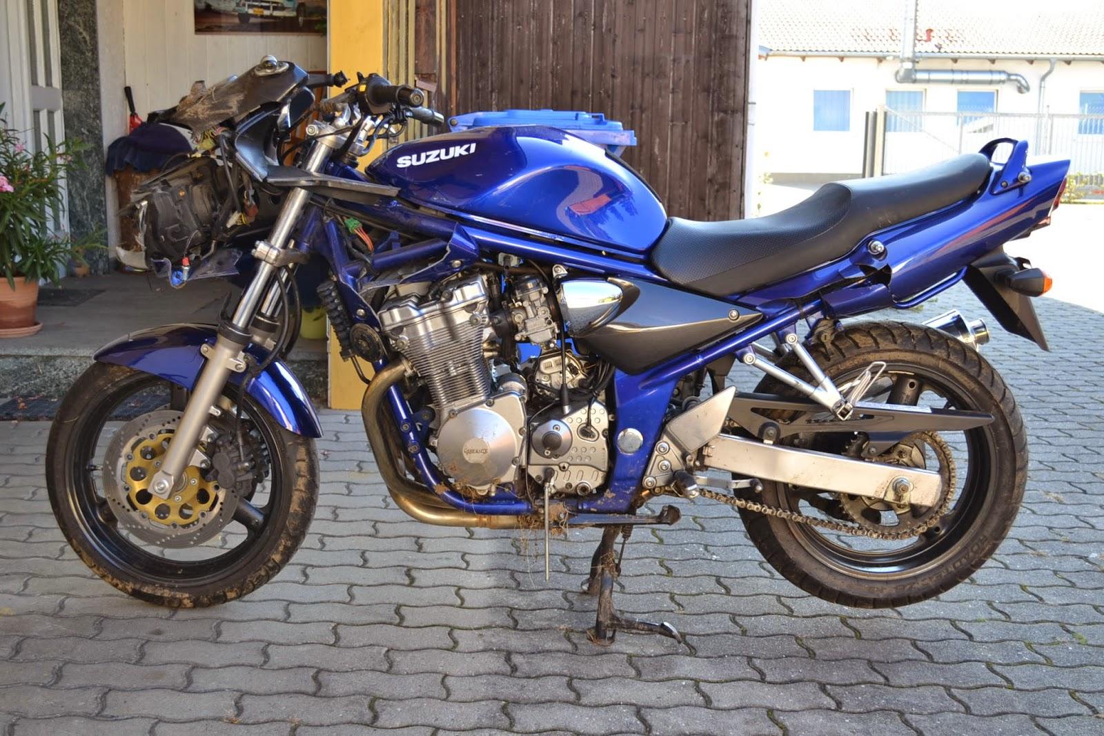 gebrauchte Motorradteile + Schraubertipps : Suzuki GSF 600 ...