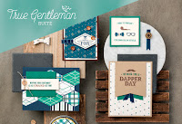 Look more closely at the True Gentleman Product Suite by Stampin' Up!