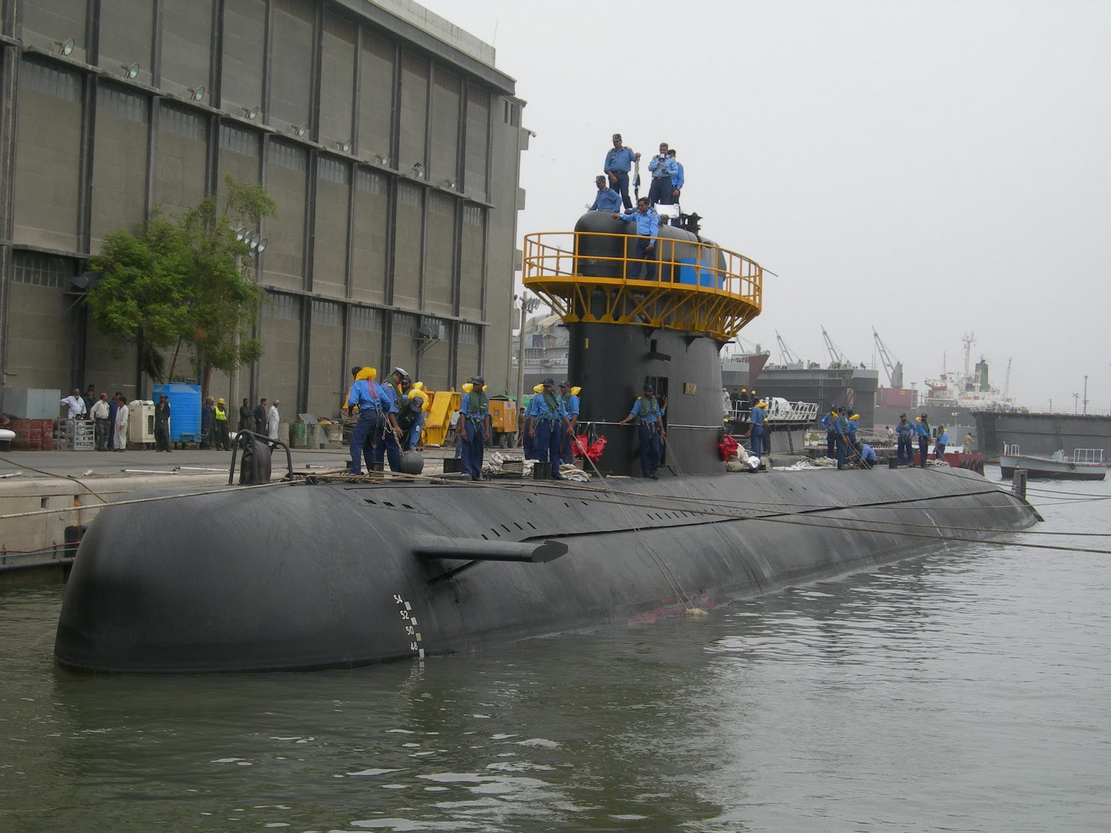 ppp govt purchased agosta 90 b submarines against navys