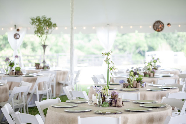 rustic+wedding+shabby+chic+summer+spring+burlap+moss+green+purple+violet+lavender+mint+emerald+outdoor+horse+cowboy+centerpiece+cake+table+dessert+candy+buffet+1326+studios+16 - Rustic Springtime
