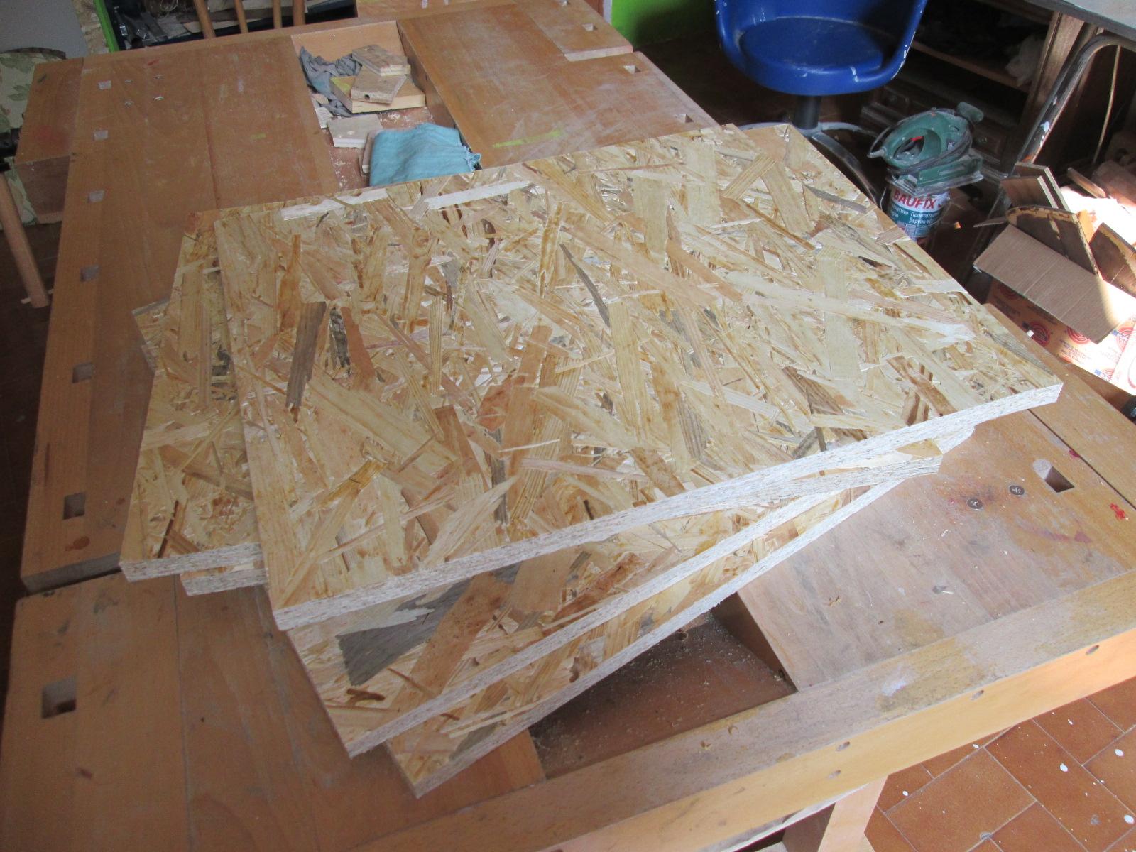 Pannelli Di Legno Osb la tana del truciolo: cubo seduta/contenitore in legno osb