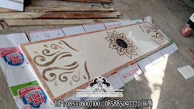 Jual Motif Lantai Marmer, Pabrik Lantai Marmer Tulungagung, Marmer Border Inlay