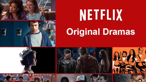 netflix original content producers for video on demand streaming service