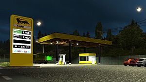 Real Gas station by Fred_be