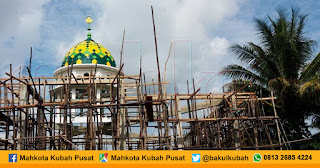 Jual kubah masjid enamel, stainless Mukomuko - Bengkulu