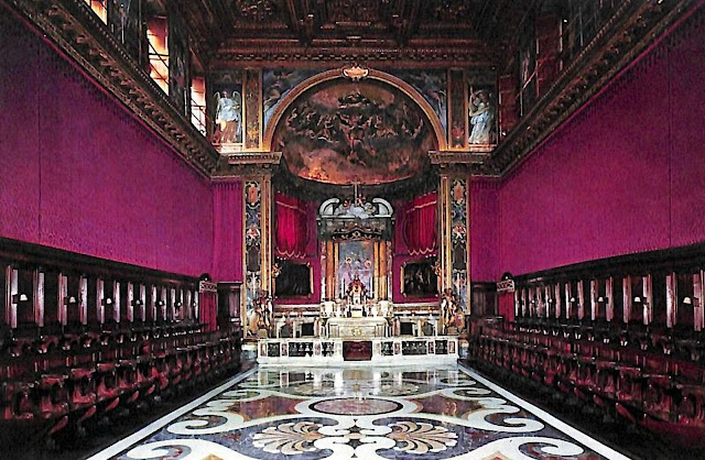 Capela do Mosteiro de Tor de'Specchi das Oblatas de Santa Francisca Romana