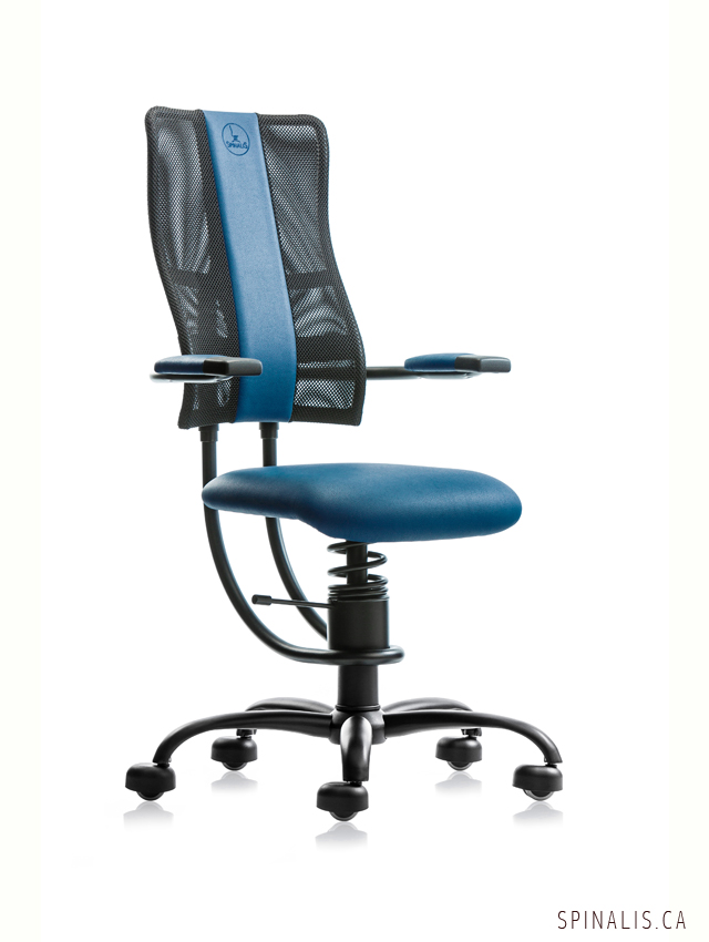 Office Chair On Sale In Canada Relieve Back Pain With SpinaliS Hacker Series