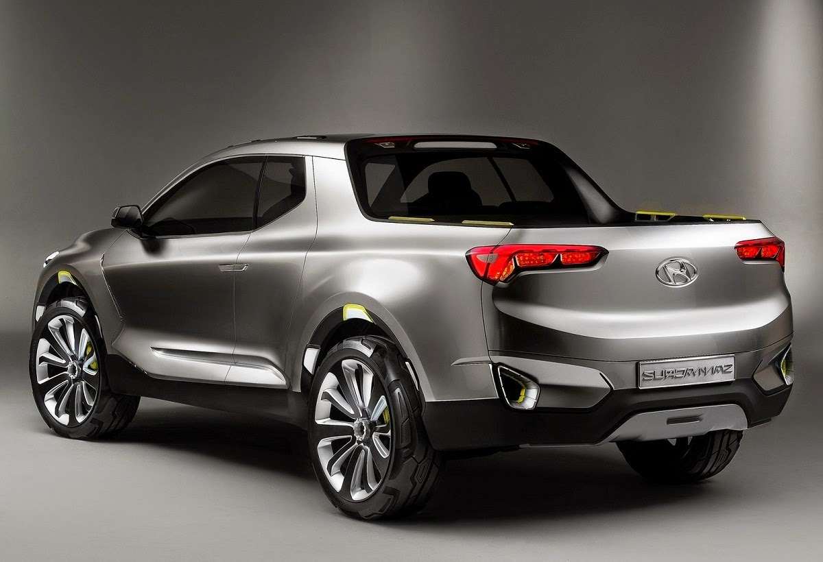 Hyundai Santa Cruz Crossover Truck Concept  Car Reviews
