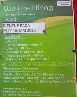 Lowongan Kerja Yogya Group Bandung 2020 di Yogya Junction