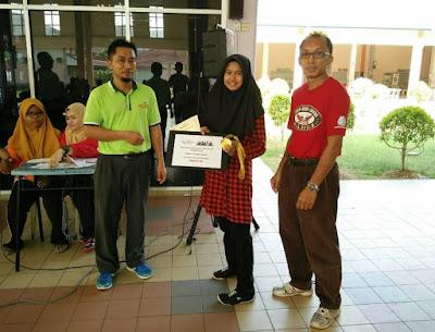 Johan Kategori Wanita Kejohanan Catur Rapid Terbuka PSIS