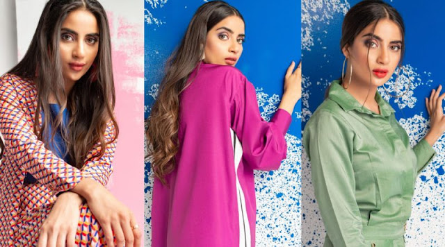 Charming Clicks of Saboor Aly from New Photo Shoot