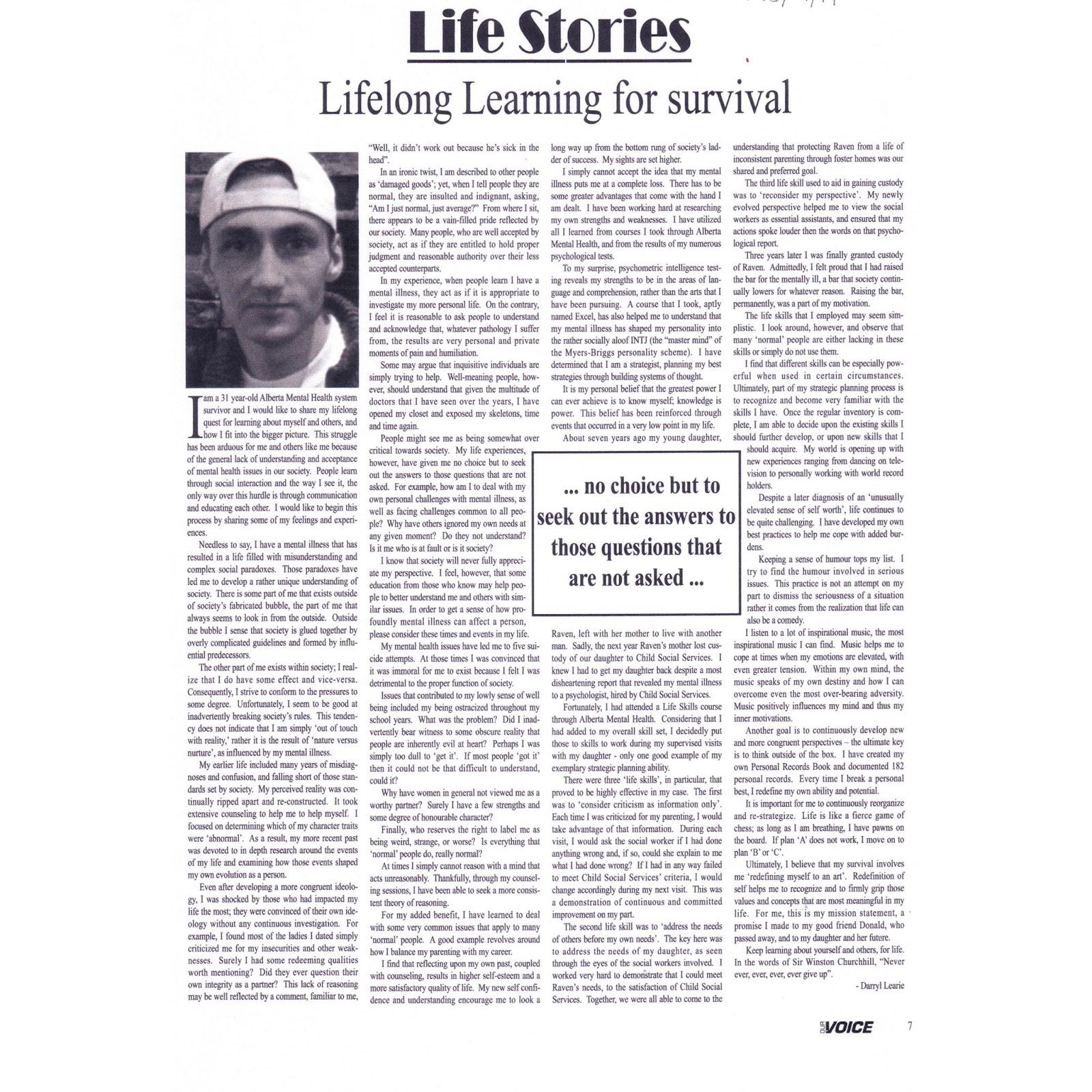 mental illness articles