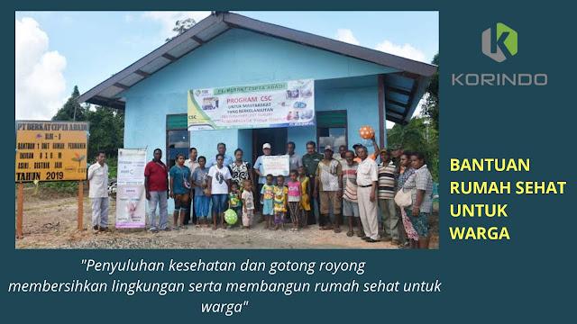Penyuluhan dan Pembangunan Rumah untuk Masyarakat