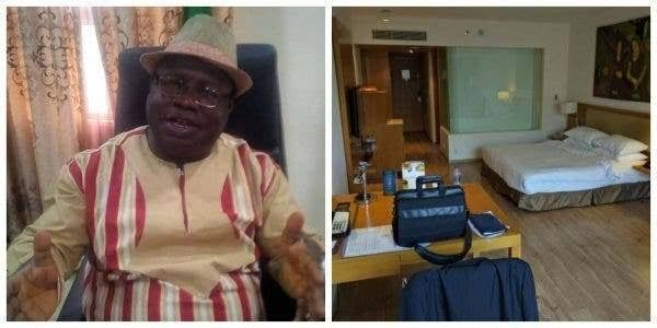 Rector Of Ede Poly Installs King-size Bed In His Office, Lands In Trouble (Photo)