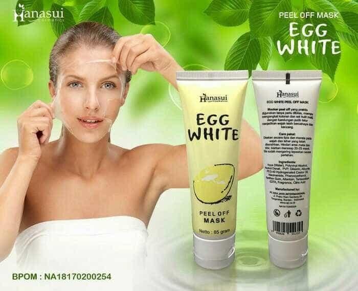 Masker Egg Hanasui BPOM