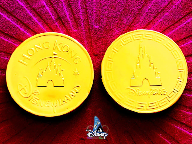 2021辛丑牛年香港迪士尼樂園度假區全新設計朱古力金幣, Hong-Kong-Disneyland-2021-CNY-Chocolate-Gold-Coins