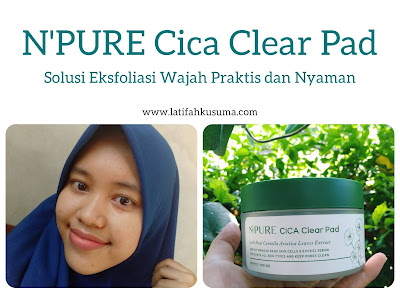 Review N'PURE Cica Clear Pad