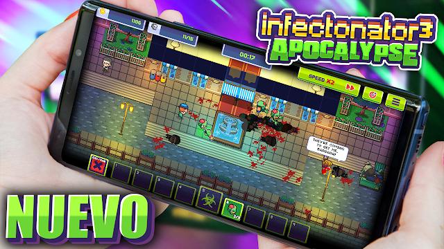 Un Increible Juego Nuevo de Zombies Para Android | Infectonator 3: Apocalypse