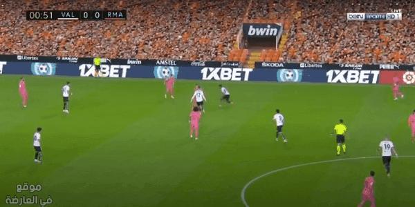 valencia-vs-real-madrid الان مشاهدة مباراة ريال مدريد وفالنسيا  بث مباشر الدوري الاسباني valencia vs real-madrid