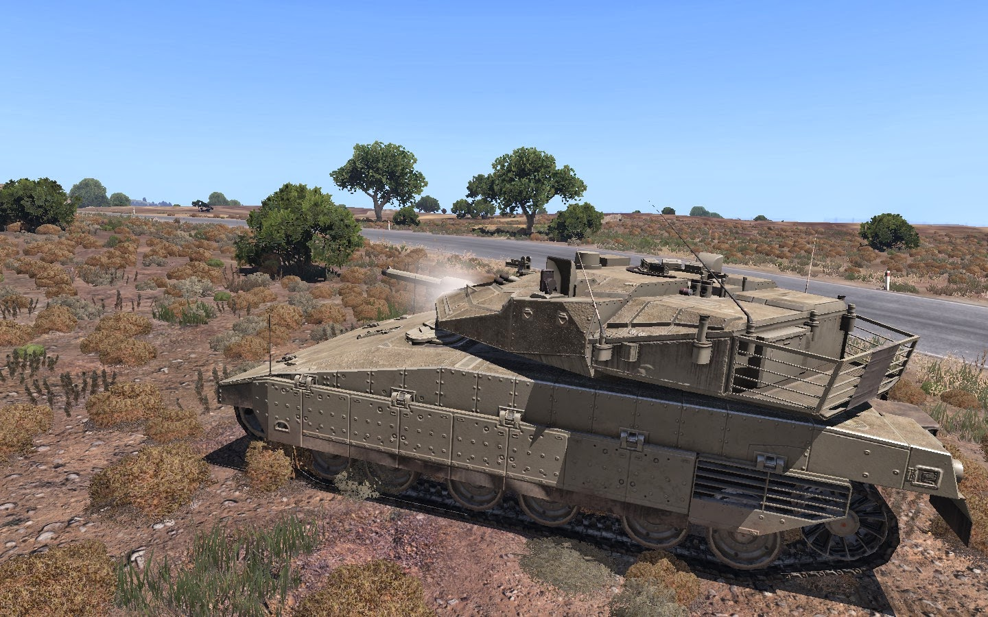 Real And Simulated Wars Arma 3 The Slammer Tank Ultimate Merkava Schematic A Great Hull Down Position Barking Of Coaxial Gun